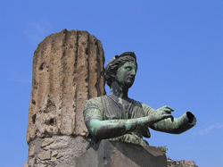 <b>Bronze statue of Diana from Pompeii</b>