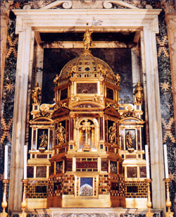 <b>The tabernacle of the Basilica of St. John in the Lateran</b>