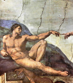 <b>Creation by Michelangelo in the Sistine Chapel</b>