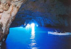 <b>The Blue Grotto of Capri</b>
