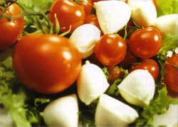 <b>The Caprese salad, the typical dish of Capri island</b>