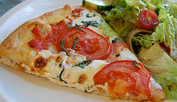 <b>Pizza, typical dish of Naples</b>