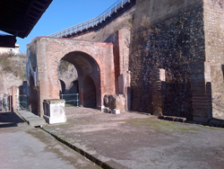 <b>The Forum in the ruins of Herculaneum</b>