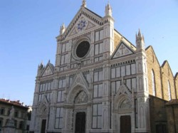 <b>The Basilica of the Holy Cross in Florence</b>