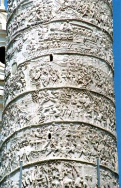 <b>The Trajan's Column in Rome</b>