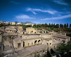 <b>View of the ruins of Herculaneum</b>