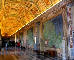 <b>The Gallery of maps in the Vatican <br>Museums</b>