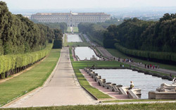 <b>The Royal Palace of Caserta seen from the park</b>