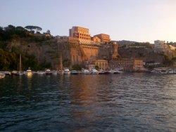 <b>The gentle town of Sorrento</b>