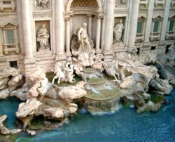 <b>The Trevi Fountain in Rome</b>