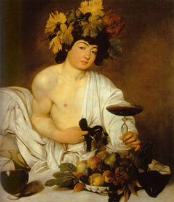 <b>Young Bacchus by Caravaggio</b>