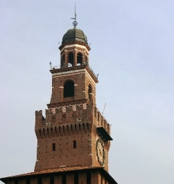 <b>A tower of the Sforza Castle</b>