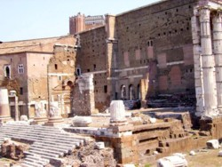 <b>Forum of Julius Caesar in Rome</b>