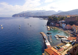 <b>Spectacular view of the coast of Sorrento</b>