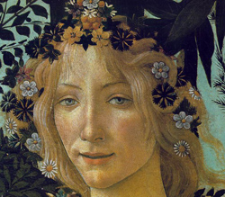<b>Another detail of La Primavera by Sandro Botticelli</b>