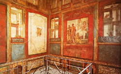 <b>The room named after Ixion in the House of the Vetti in Pompeii</b>