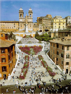 <b> The famous Spanish Steps in Rome</b>