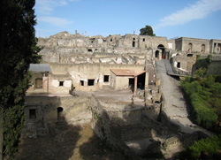 <b>Porta Marina in the ruins of Pompeii</b>