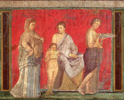 <b>Fresco from the Villa of the Mysteries</b>