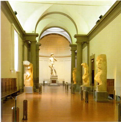 <b>Vue of the Accademia Gallery</b>