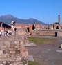 Pompeii is a must-see place in the excursion in the Bay of Naples
