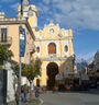 Tasso Square and the church del Carmine at Sorrento