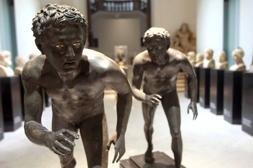 The Runners in the Archaeological Museum of Naples