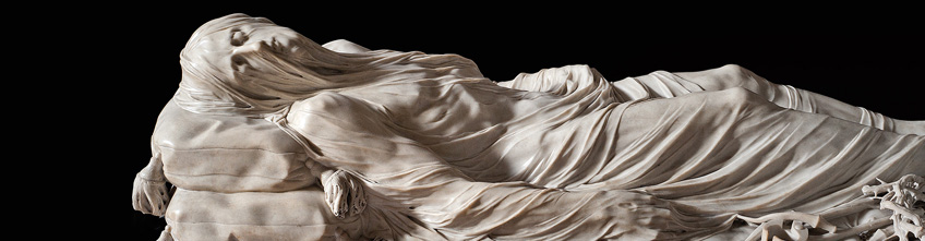 Veiled Christ by Giuseppe  Sanmartino in the San Severo Chapel in Naples